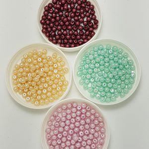 Perle Di Vetro Cerato 4mm