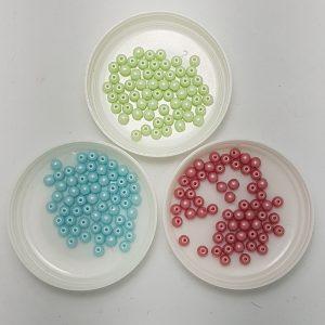 Perle Di Vetro Ceche 4mm